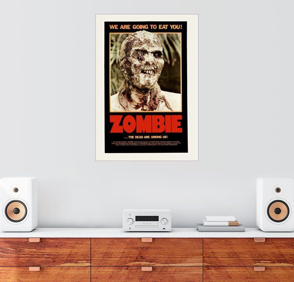 Posterlounge Wandbild »zombie«