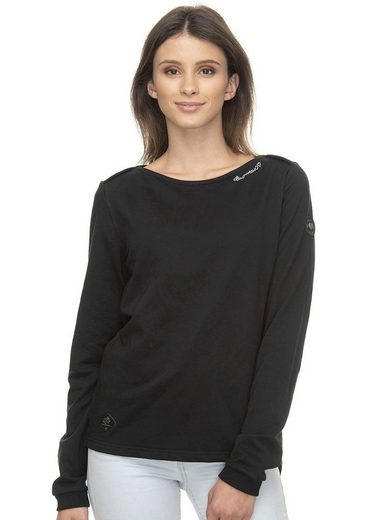 Ragwear Sweatshirt »PARDI« Vegan und PETA verifiziert