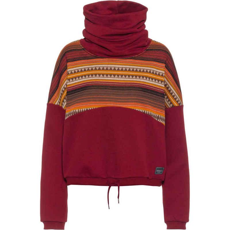 iriedaily Sweatshirt »Sekani« Fair Wear Foundation,Nachhaltige Baumwolle,Vegan