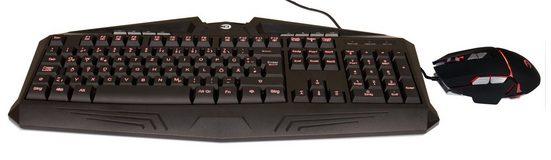 Hyrican Striker Gaming Spar Set, RGB Maus + Tastatur »ST-GKB8003/ GM551«