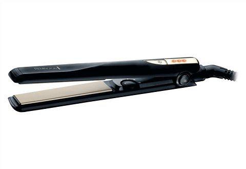 Remington Haarglätter S1005 Ceramic Haarglätter, 4-fach Schutz für ein schonendes Styling in schwarz