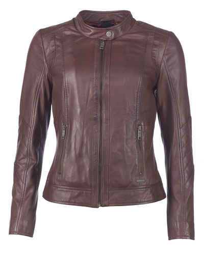 innovative design 6d796 eef28 Damen Lederjacke in braun online kaufen | OTTO