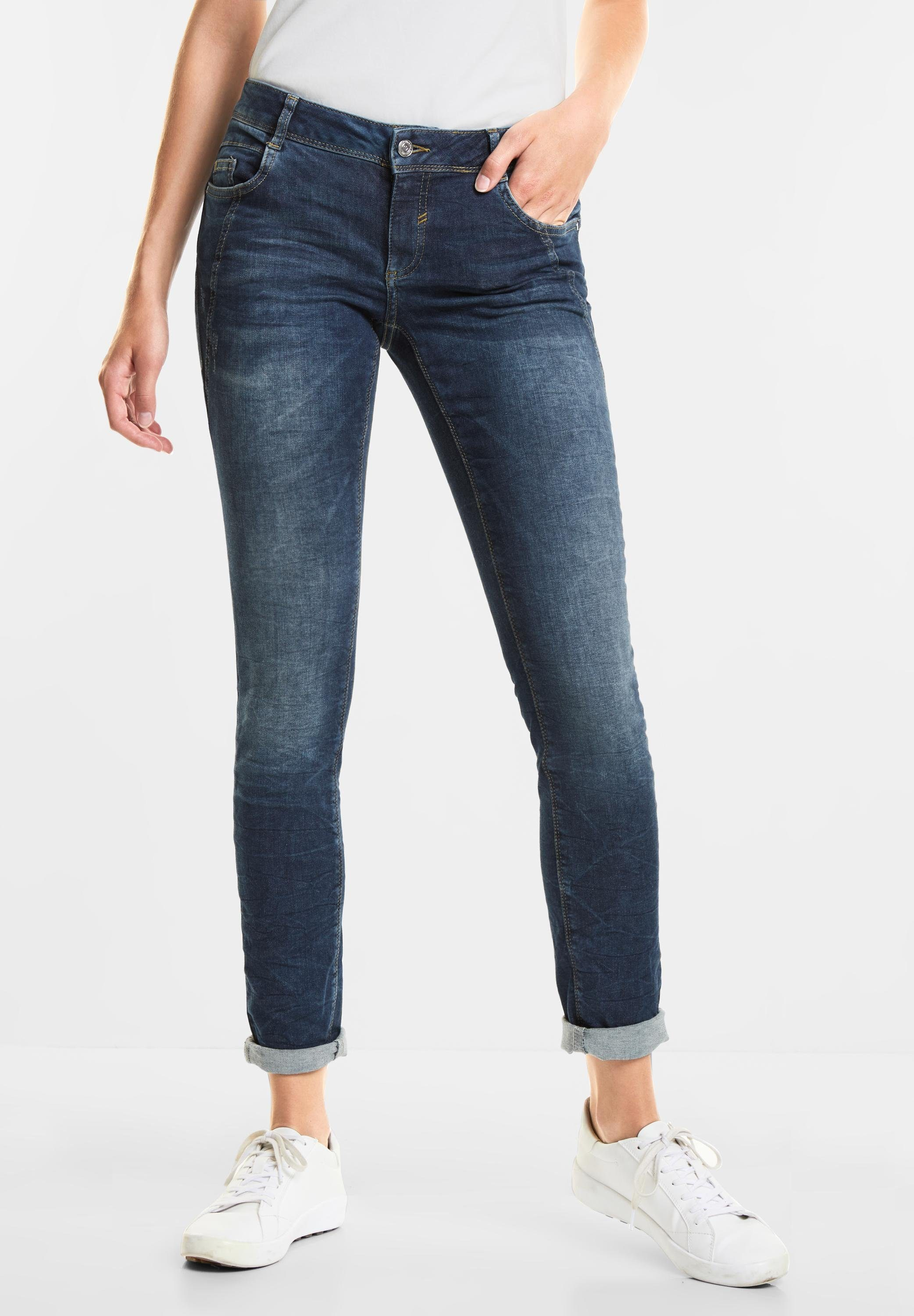 STREET ONE Loose fit Jeans stretchig, Casual Fit Denim Crissi online kaufen | OTTO