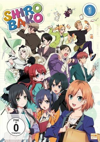 DVD »Shirobako, Vol. 1 (Mit Sammelschuber)«