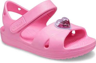 Crocs »Classic Cross Strap Charm Sandal« Sandale mit Klettverschluss