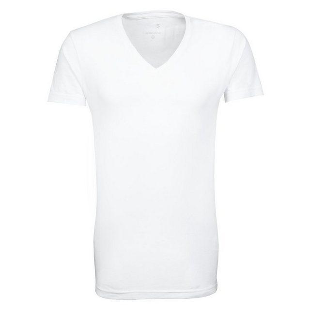 seidensticker -  T-Shirt »Schwarze Rose« Kurzarm V-Neck