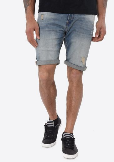 Kaporal Jeansshorts im Used-Look