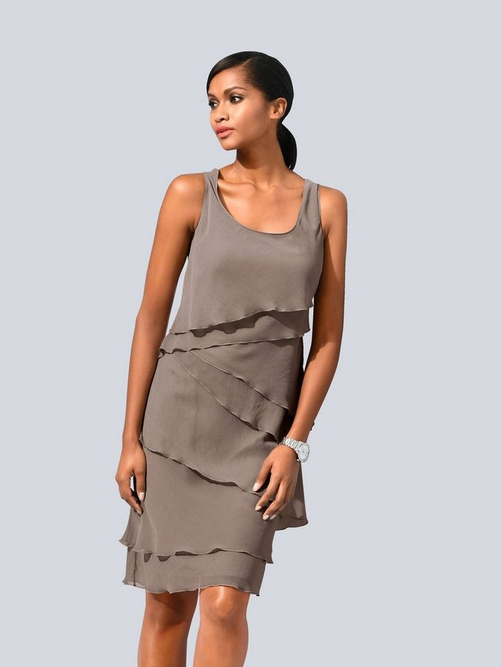 Alba Moda Kleid im modischen Lagenlook kaufen | OTTO