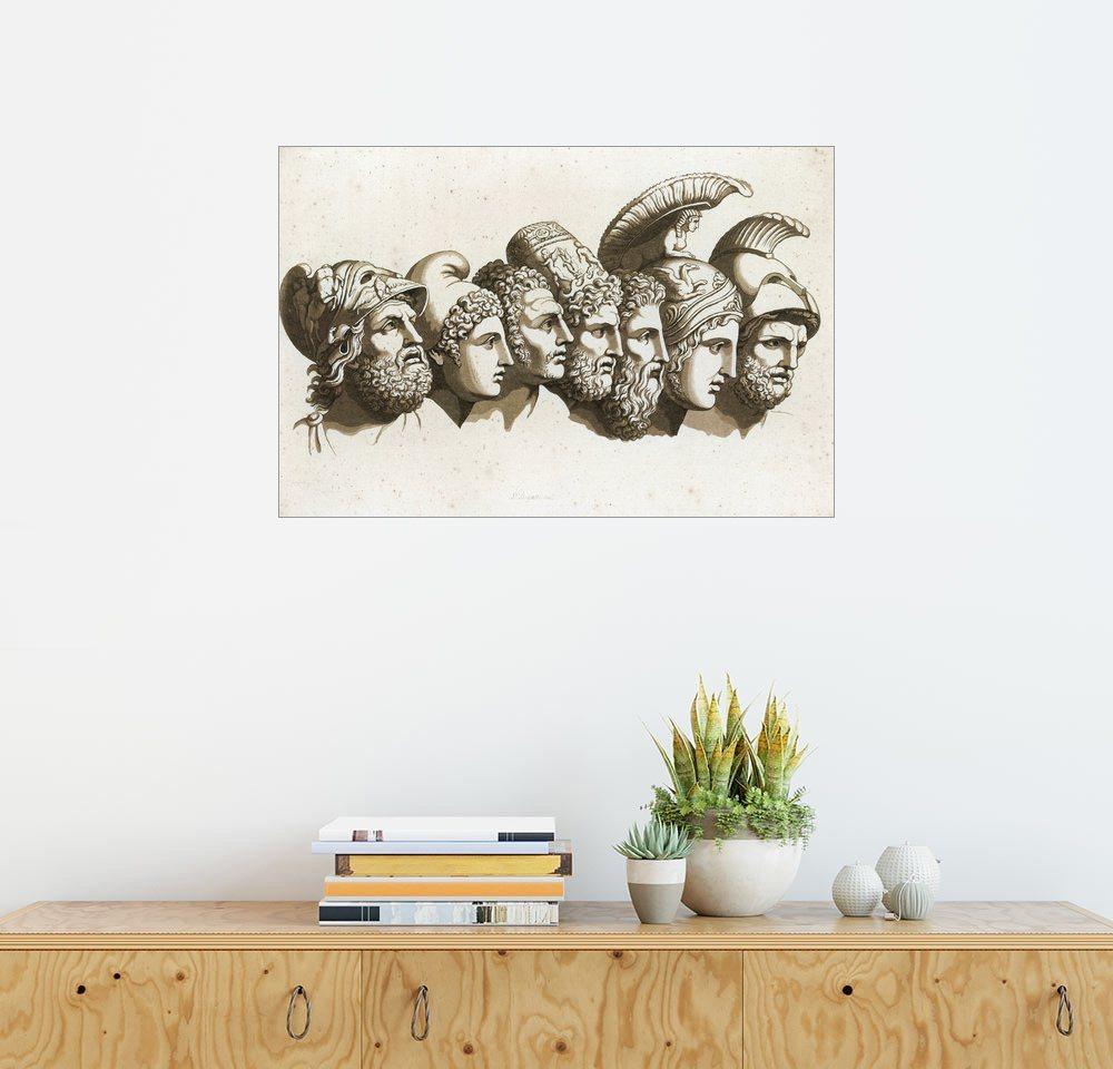 posterlounge wandbild english school die helden des trojanischen krieges dekoration bilder