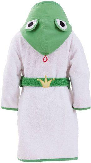 Smithy Bademantel für Kinder »Froschkönig«