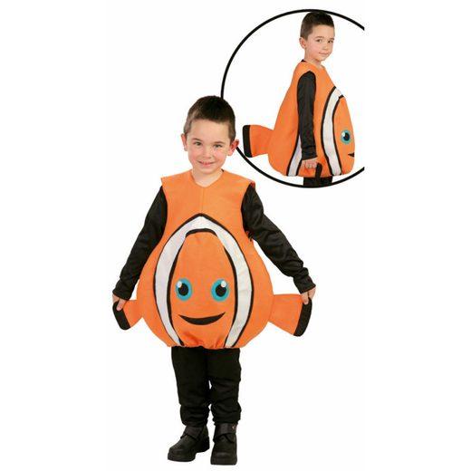 Clownfisch Finn Kinderkostüm
