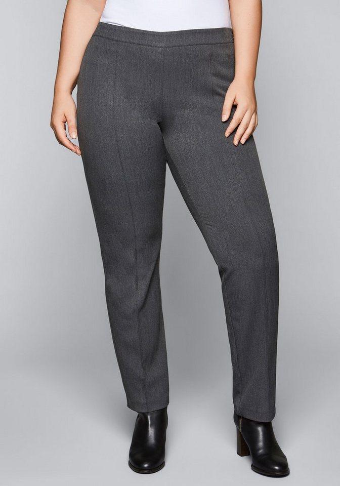 700348b78a9ed0 sheego Style Anzughose, Mit seitlichem Reißverschluss online kaufen ...