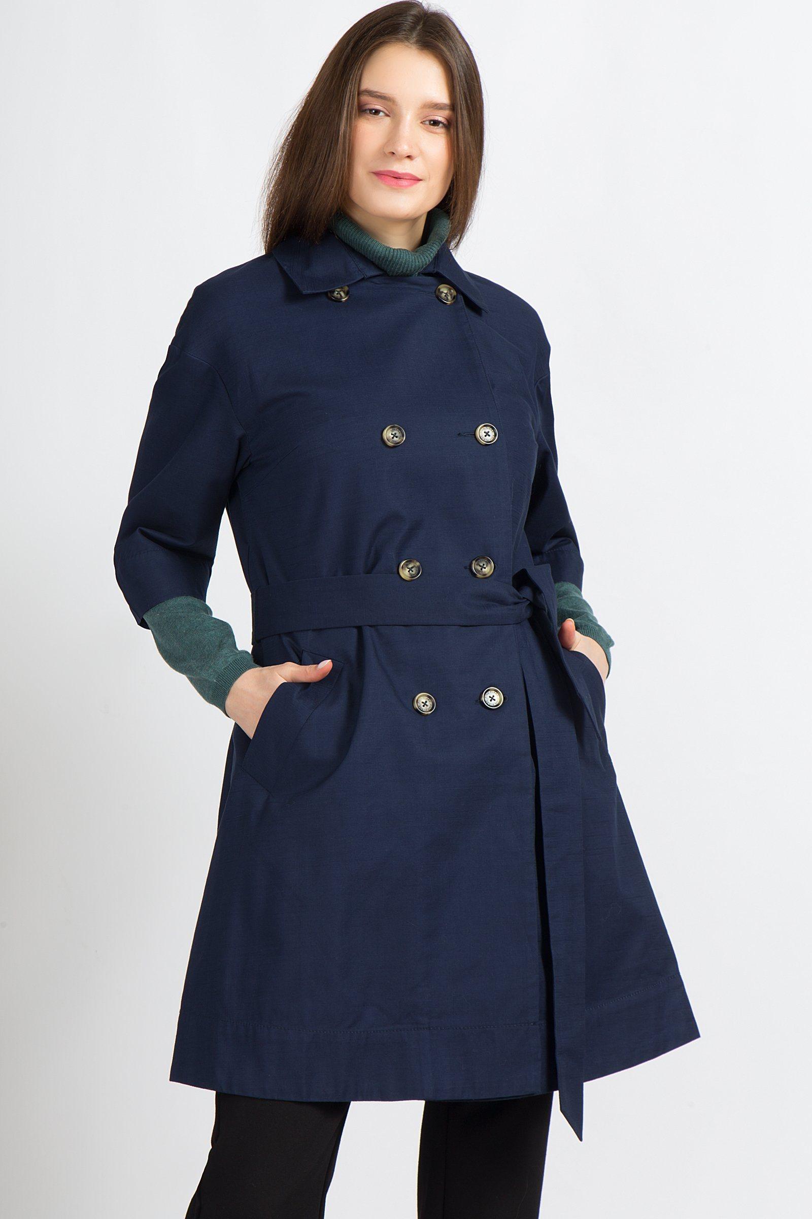 Finn Flare Trenchcoat mit femininer Silhouette | Bekleidung > Mäntel > Trenchcoats | Baumwolle | Finn Flare