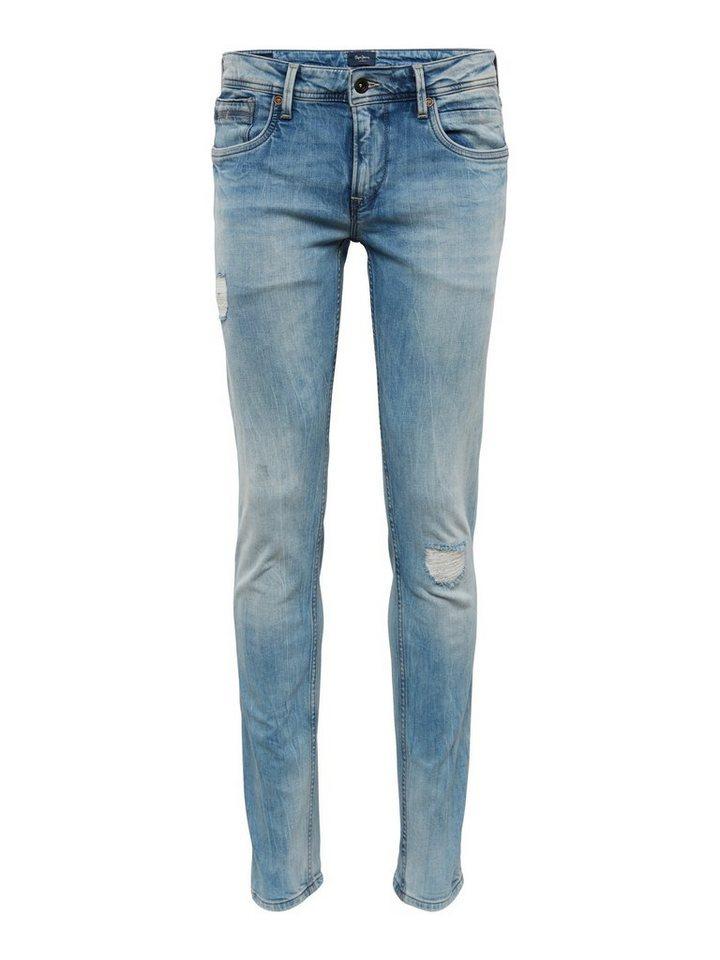 Pepe Jeans Regular Fit Jeans Hatch Sharp Blau?$formatz$