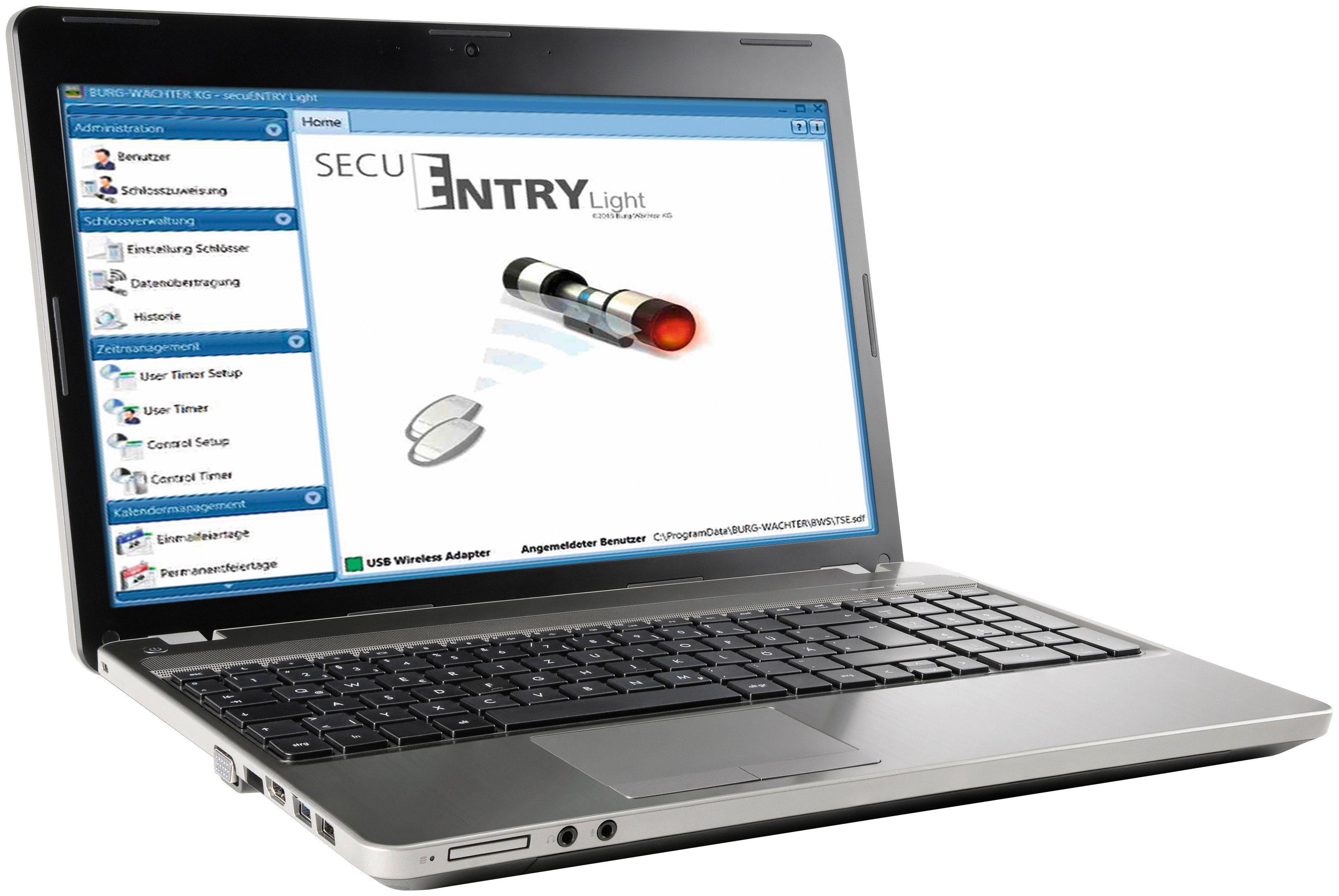 BURG WÄCHTER Digitaler Schlüssel »ENTRY 5750 Software«, PC-Software