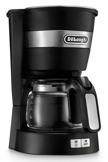 De'Longhi Filterkaffeemaschine ACTIVE LINE ICM14011.BK, 0,65l Kaffeekanne, Permanentfilter