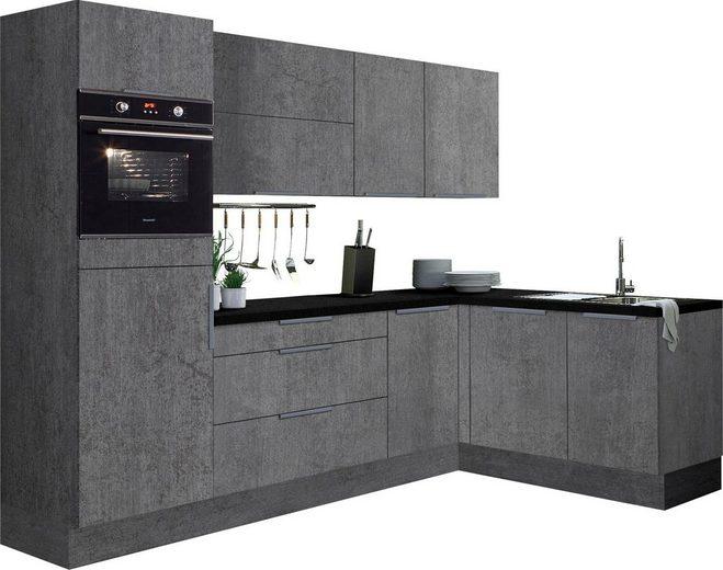 OPTIFIT Winkelküche »Tara«, ohne E-Geräte, Stellbreite 265 x 175 cm