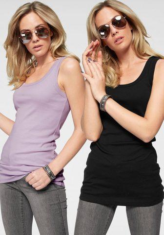 FLASHLIGHTS Marškinėliai be rankovių (Rinkinys 2 v...
