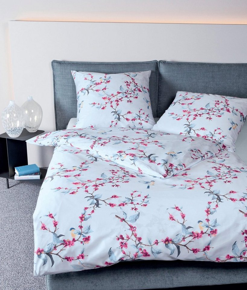 bettw sche saturday sun janine mit tollen blumen online kaufen otto. Black Bedroom Furniture Sets. Home Design Ideas