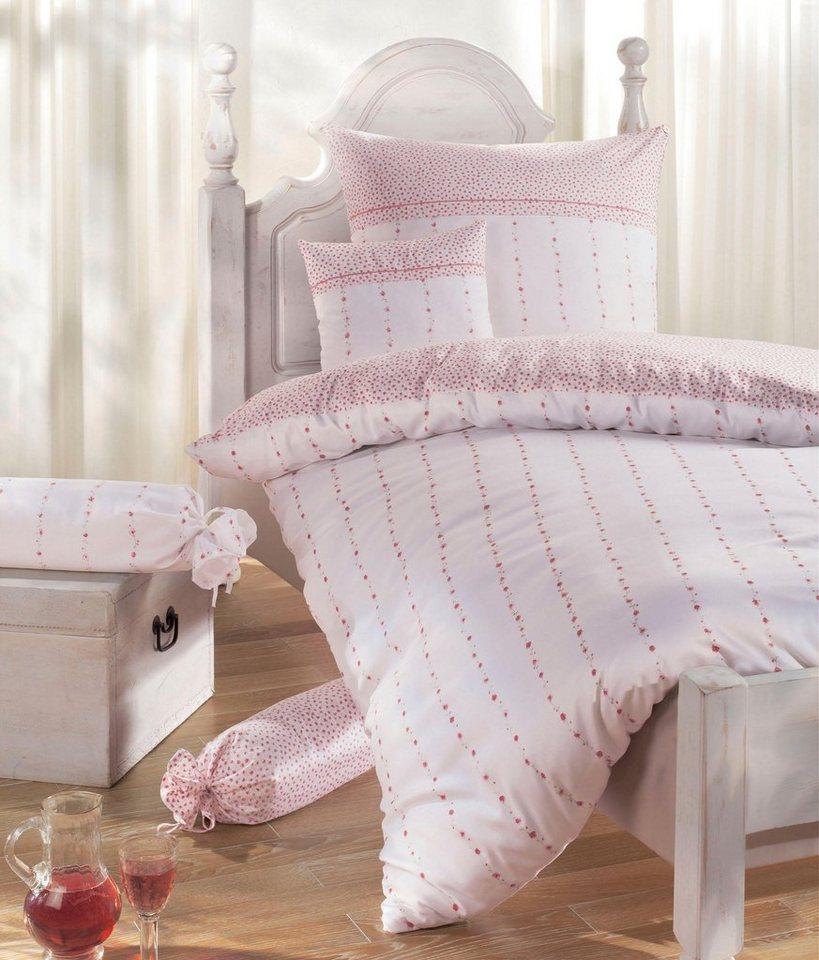 bettw sche else janine mit in streifen angebrachten. Black Bedroom Furniture Sets. Home Design Ideas