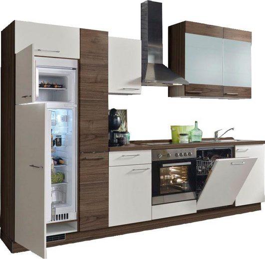Express Küchen Küchenzeile »Trea«, ohne E-Geräte, Breite 310 cm