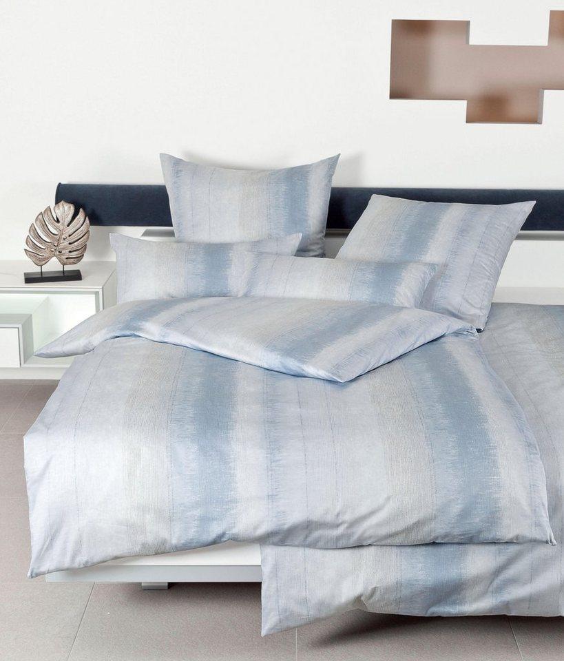 bettw sche lina janine mit angedeuteten streifen online kaufen otto. Black Bedroom Furniture Sets. Home Design Ideas