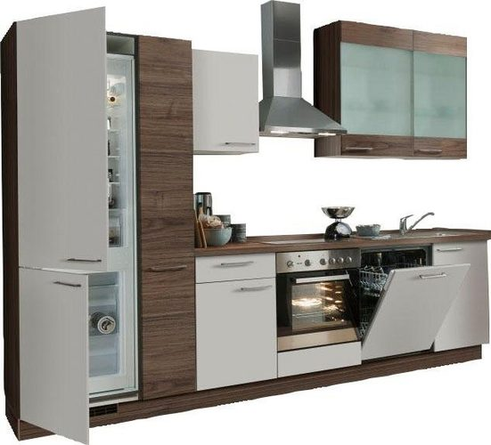 Express Küchen Küchenzeile »Trea«, mit E-Geräten, Breite 310 cm