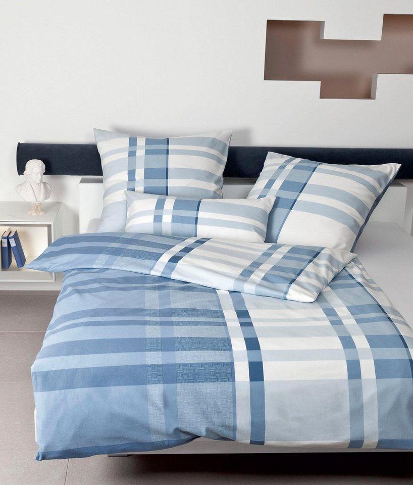 bettw sche mone janine mit klassischen check otto. Black Bedroom Furniture Sets. Home Design Ideas