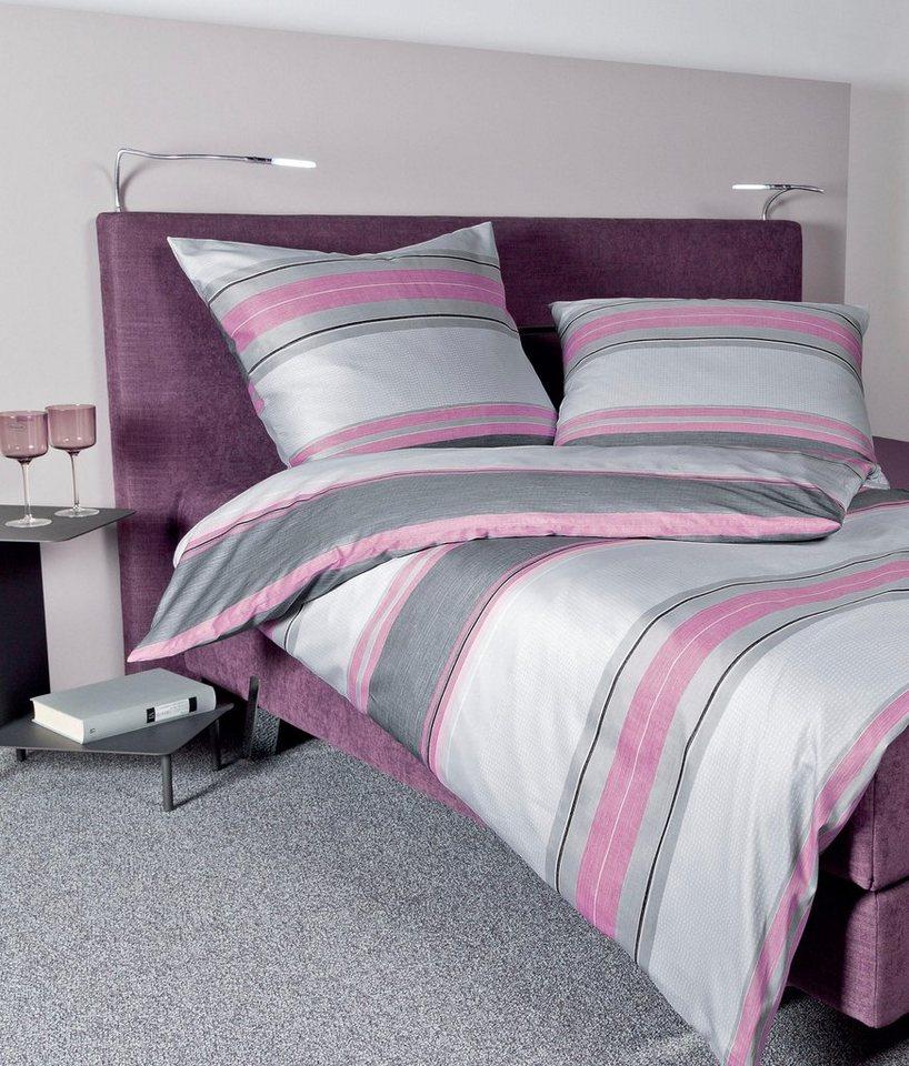 bettw sche dishonesty janine mit horizontalen streifen online kaufen otto. Black Bedroom Furniture Sets. Home Design Ideas