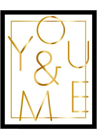 G&C G&C paveikslas »YOU & ME WHITE«