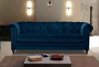 Premium collection by Home affaire Chesterfield-Sofa »Chambal«, mit klassischer Knopfheftung