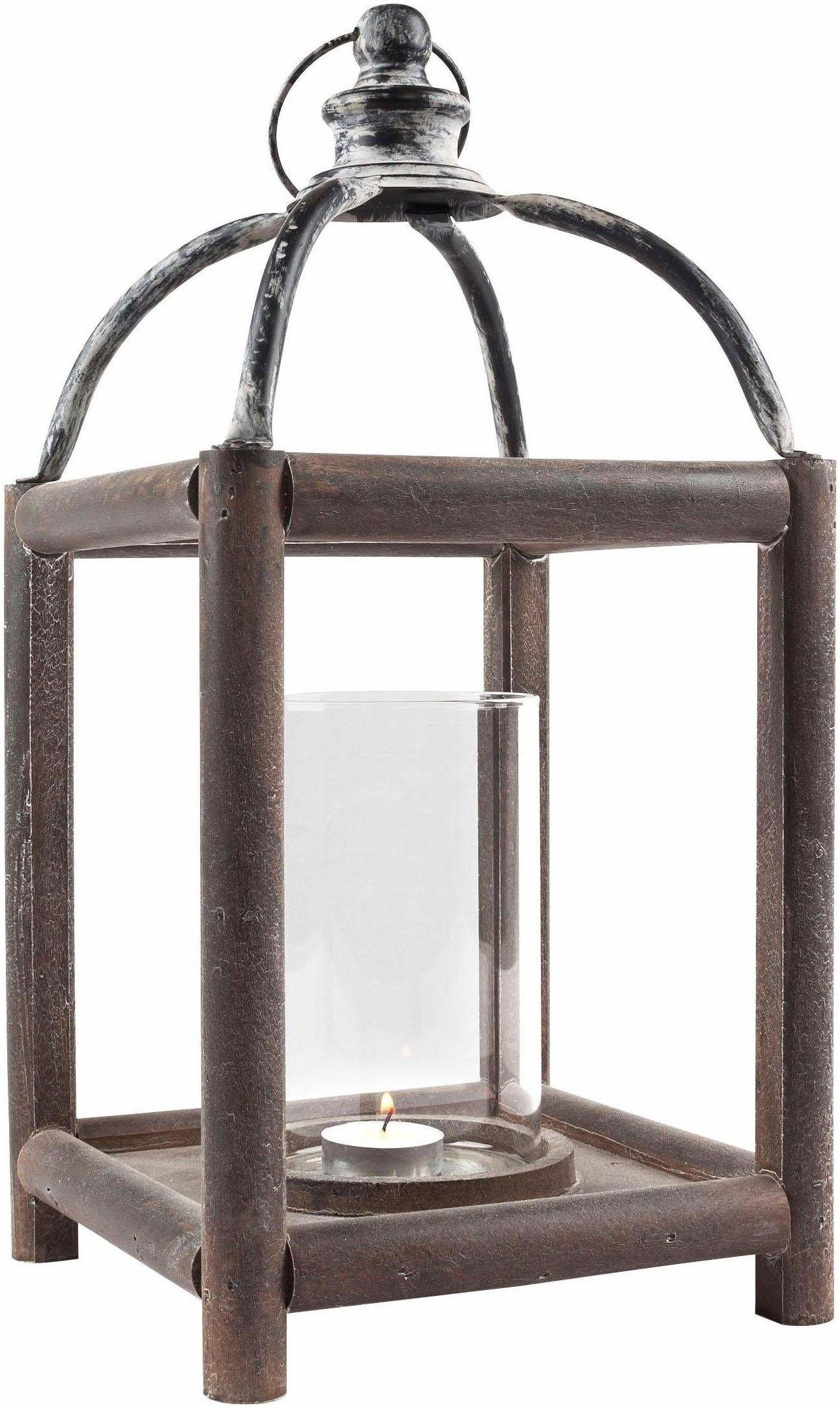 klar-silber-rahmen-edelstahl Laternen online kaufen | Möbel ...