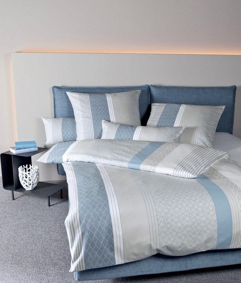 bettw sche hoods janine mit vertikalen streifen online kaufen otto. Black Bedroom Furniture Sets. Home Design Ideas
