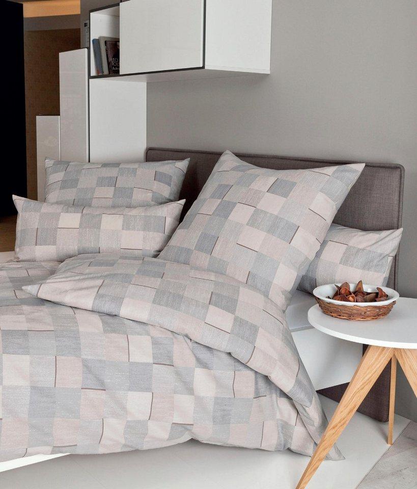 Bettwasche Hilltop Janine Mit Kleinen Quadraten Online Kaufen Otto