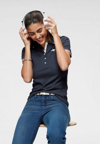 KangaROOS Polo marškinėliai su kontrastingas ges...