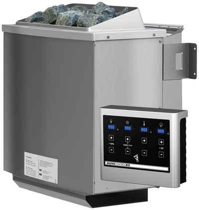 KONIFERA Bio-Saunaofen, 9 kW, externe Steuerung, (1-St), mit Steinen