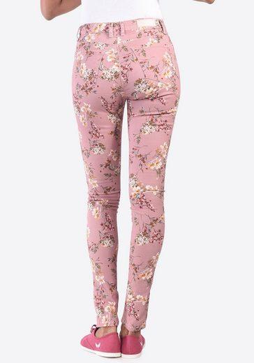 Kaporal Jeans mit schönem Blumenmuster