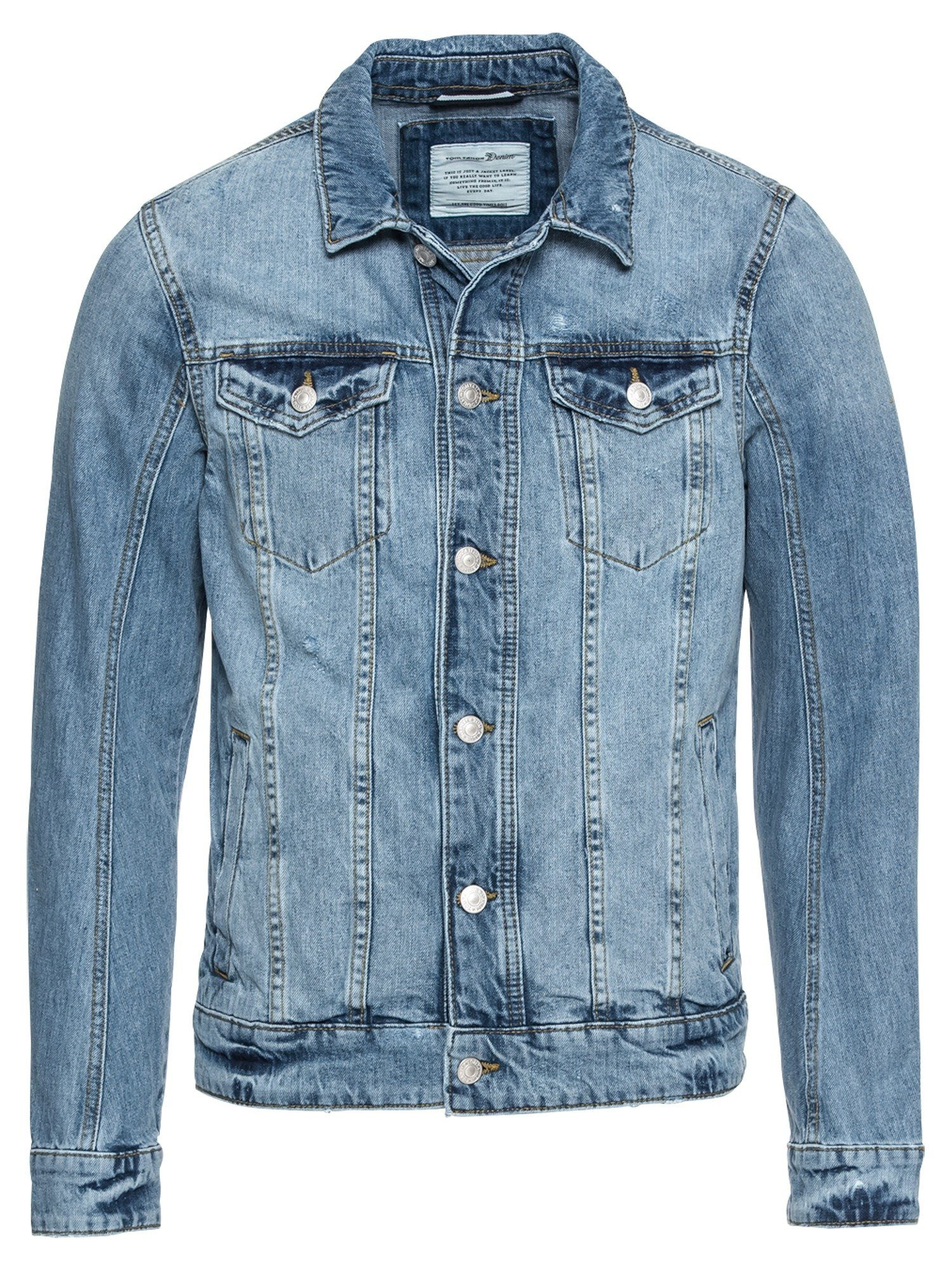 TOM TAILOR Denim Jeansjacke