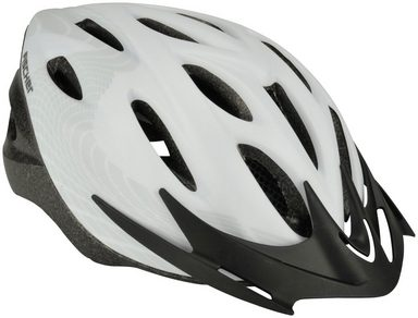 FISCHER FAHRRAEDER Fahrradhelm »White Vision«, L/XL 58-61 cm