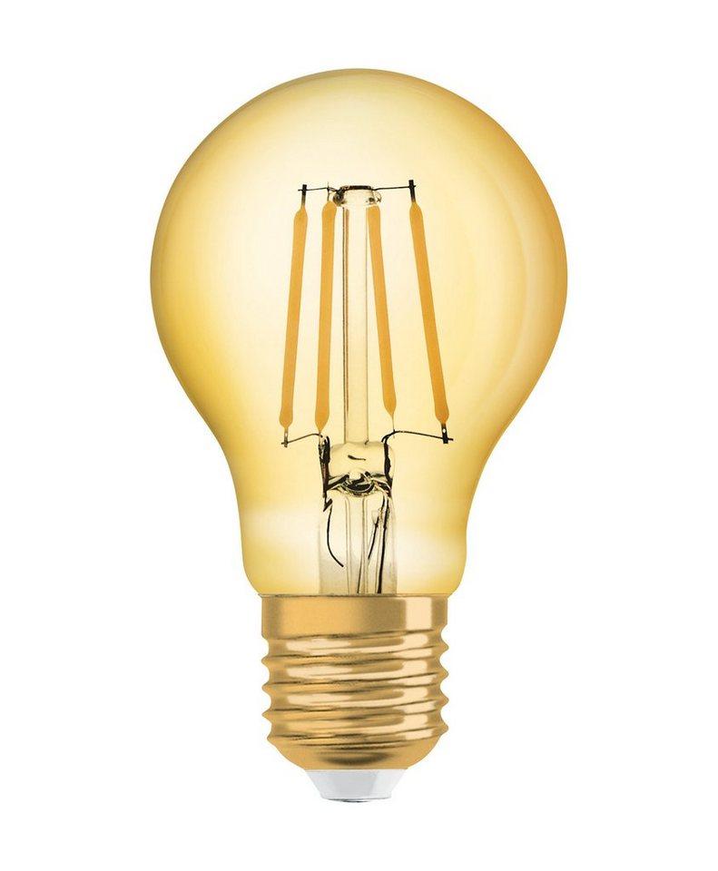 osram led lampe vintage edition kolbenform vintage 1906 led 55 7 w 825 e27 gold online. Black Bedroom Furniture Sets. Home Design Ideas