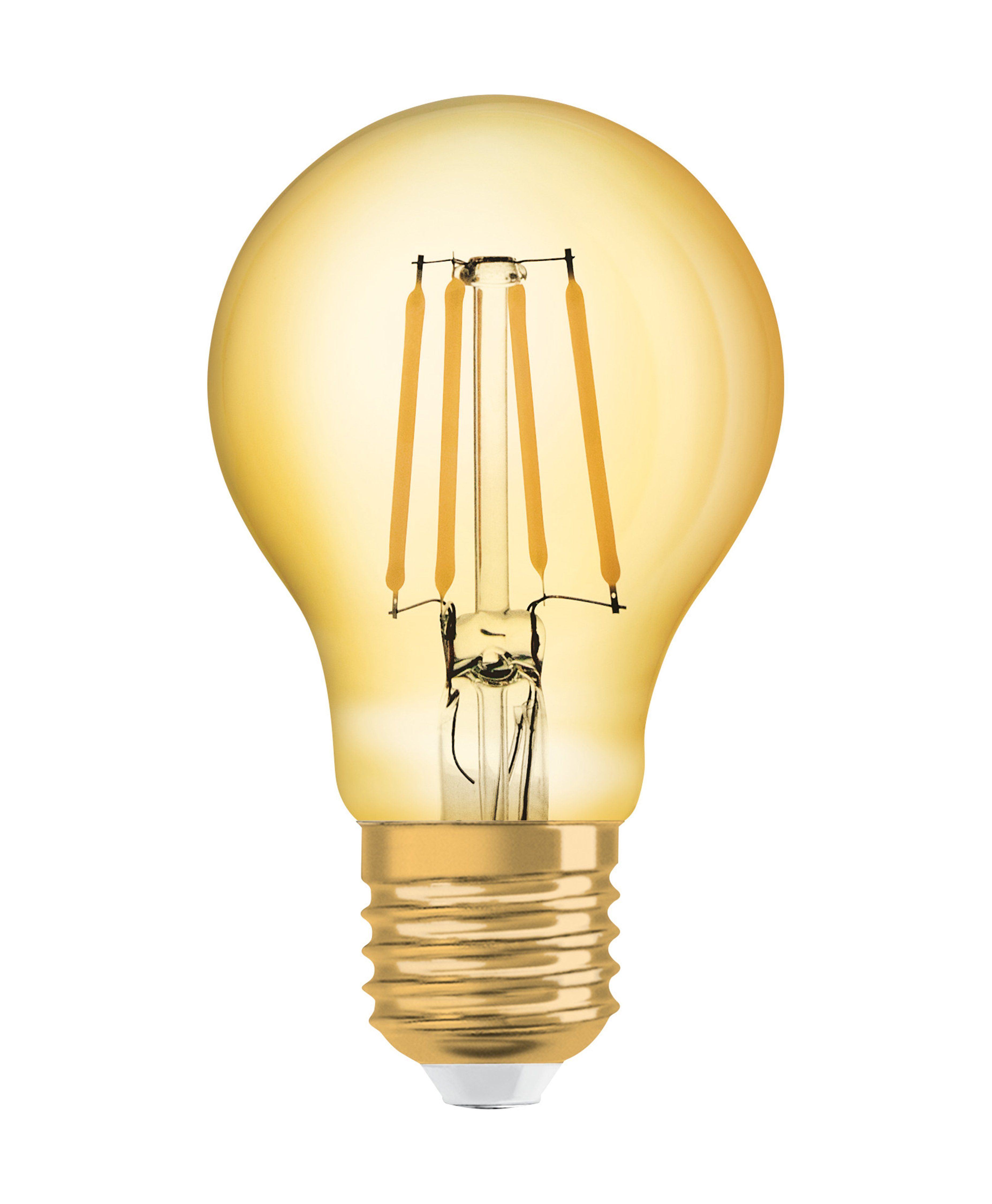 Osram LED-Lampe, Vintage-Edition, Kolbenform »Vintage 1906 LED 55 7 W/825 E27 GOLD«