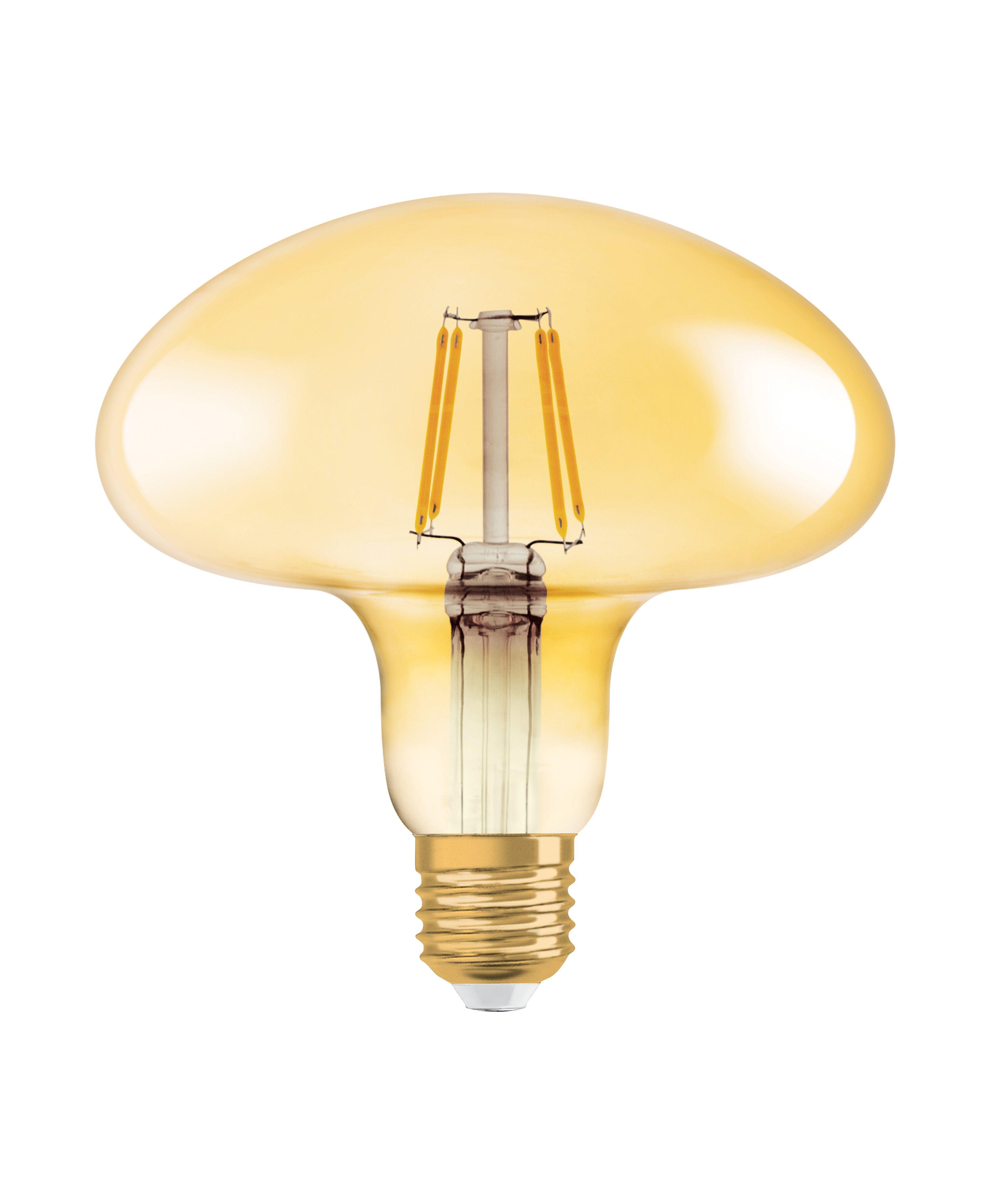 Osram LED-Lampe, Vintage-Edition »Vintage 1906 MUSHROOM 40 4.5 W/2500 E27 GOLD«