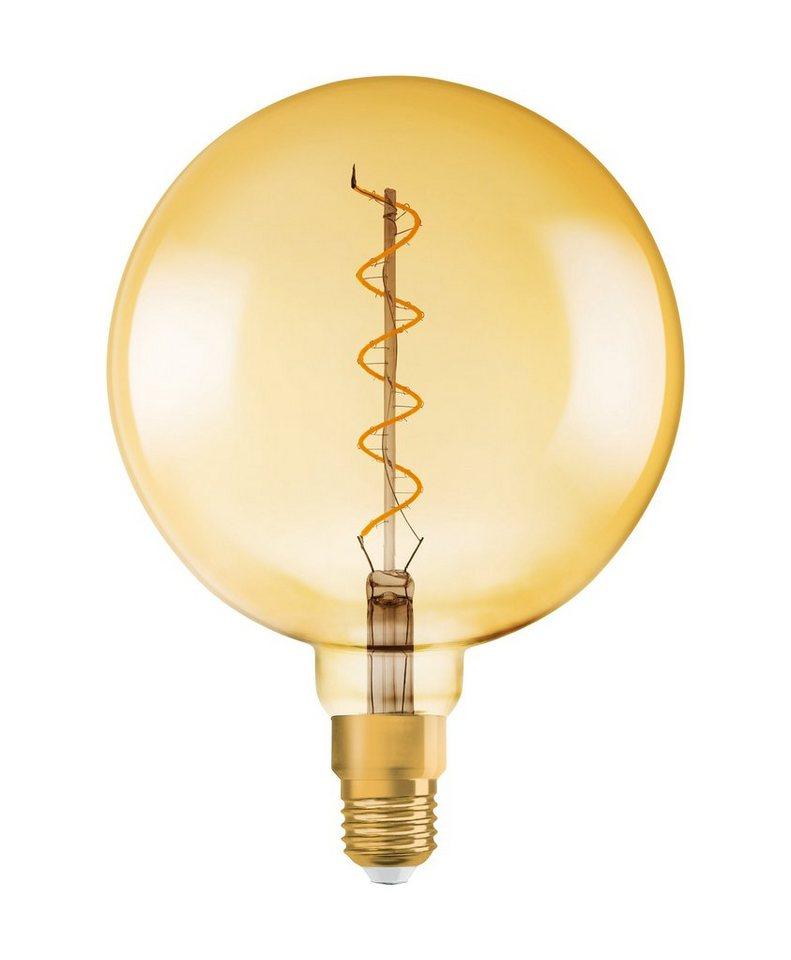 osram led lampe vintage edition ballform vintage 1906 globe 28 5 w 820 e27 gold online. Black Bedroom Furniture Sets. Home Design Ideas