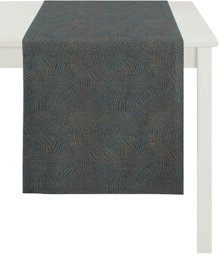 APELT Tischläufer »1102 Loft Style, Jacquard« (1-tlg)