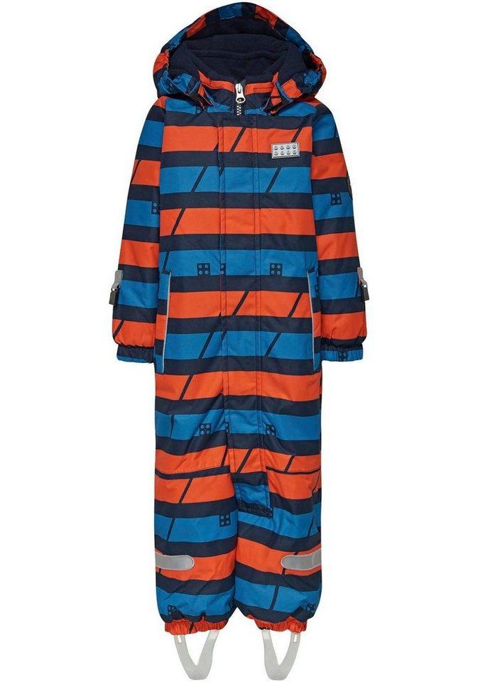 Herren LEGO® Wear Schneeoverall »Johan 778 / 590« mit Reflektoren blau  KOB-Overall Jungen