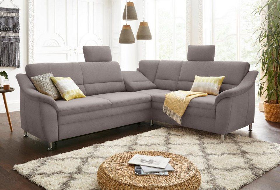 sit more polsterecke mit federkern wahlweise mit bettfunktion und schubkasten online kaufen otto. Black Bedroom Furniture Sets. Home Design Ideas