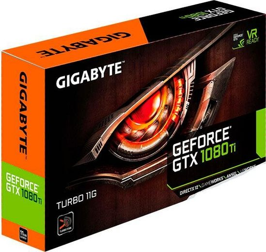 Gigabyte »GTX 1080 Ti Turbo« Grafikkarte (11 GB, GDDR5X)