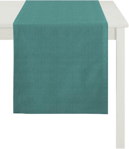 APELT Tischläufer »Arizona, Uni-Basic« (1-tlg), Leinenoptik