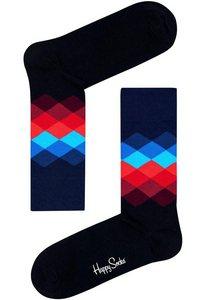 Happy Socks Socken »Faded Diamond« mit gemustertem Schaft