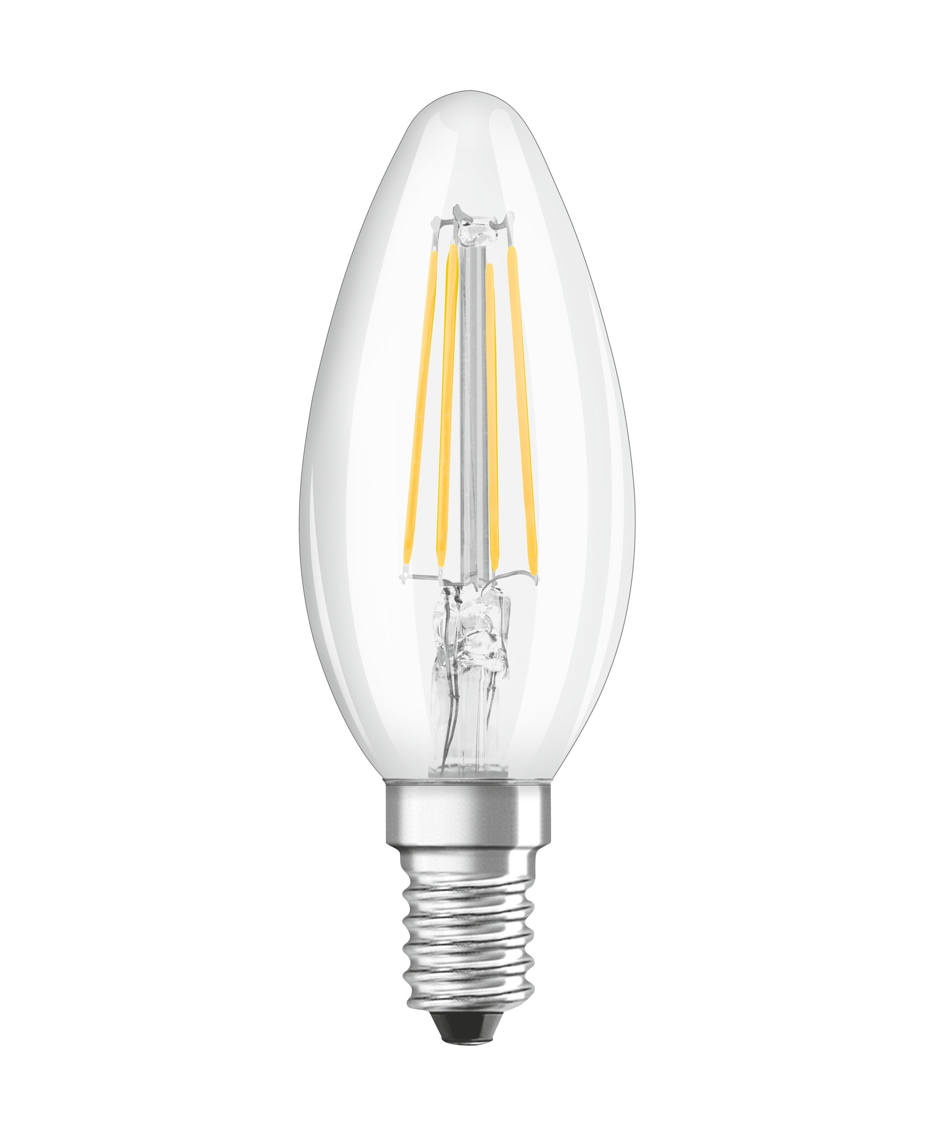 Osram LED RELAX and ACTIVE CLASSIC LED-Lampe »SST CLAS B 44 CL 5 W/827 E14«